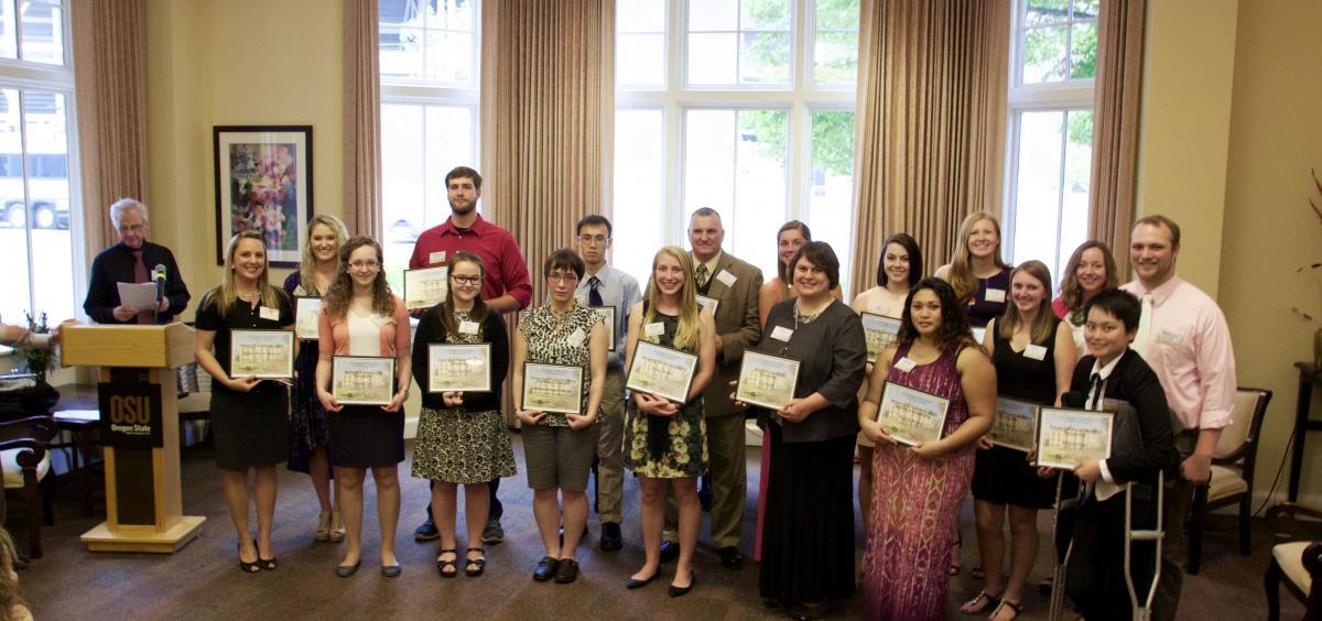 2016 College of Education scholarship recipients